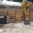 Baugrubensicherung Neubau MFH, Gartenstrasse