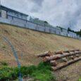 Neubau Lärmschutzwand Waldwiese